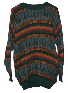 Other Cozy Hipster Vintage Urban Warm Patterned Peruvian Cotton Wool Sweater