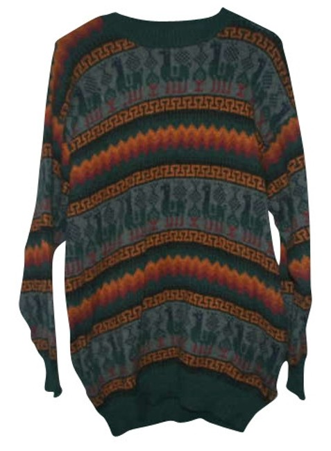 Preload https://item2.tradesy.com/images/teal-peruvian-sweaterpullover-size-8-m-278561-0-0.jpg?width=400&height=650