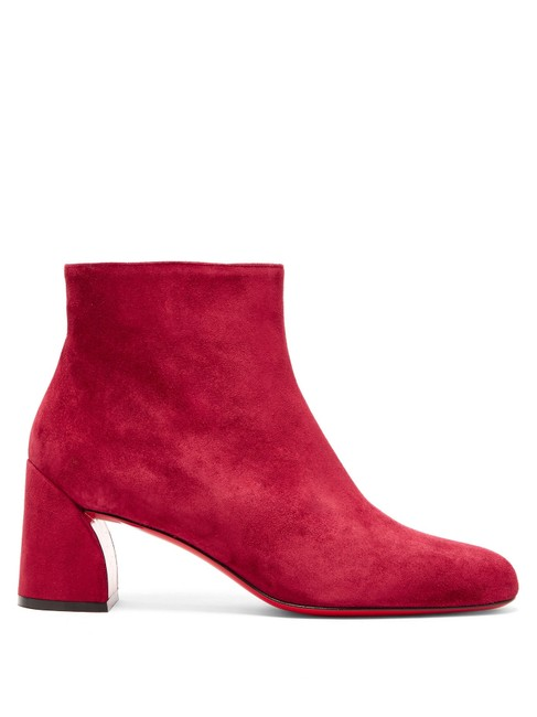 Item - Red Mf Turela 55 Suede Ankle Boots/Booties Size EU 39 (Approx. US 9) Regular (M, B)