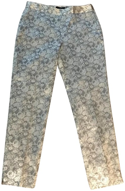 Item - Gold Tan Floral Lace Feel Heritage Pants Size 10 (M, 31)