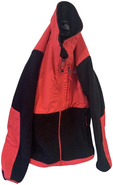 The North Face Black and Pink Fleece Jacket Size 4 (S) The North Face Black and Pink Fleece Jacket Size 4 (S) Image 1