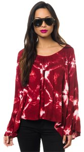 One Teaspoon Edgy Tie Dye Tunic