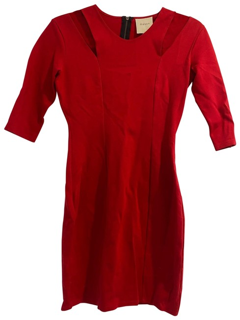Item - Red Short Night Out Dress Size 4 (S)