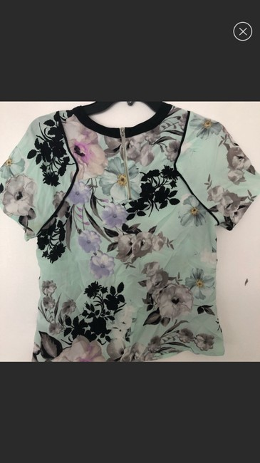1.STATE Blue Blouse Size 4 (S) 1.STATE Blue Blouse Size 4 (S) Image 3