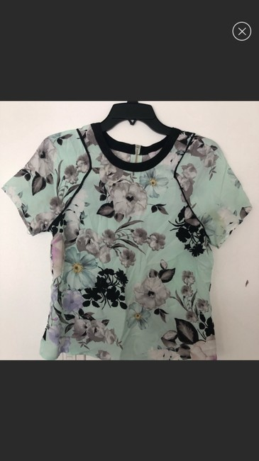 1.STATE Blue Blouse Size 4 (S) 1.STATE Blue Blouse Size 4 (S) Image 4