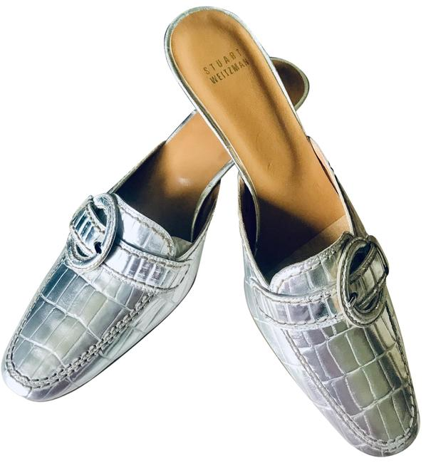 Item - Silver 2w75617 Mules/Slides Size US 7.5 Regular (M, B)