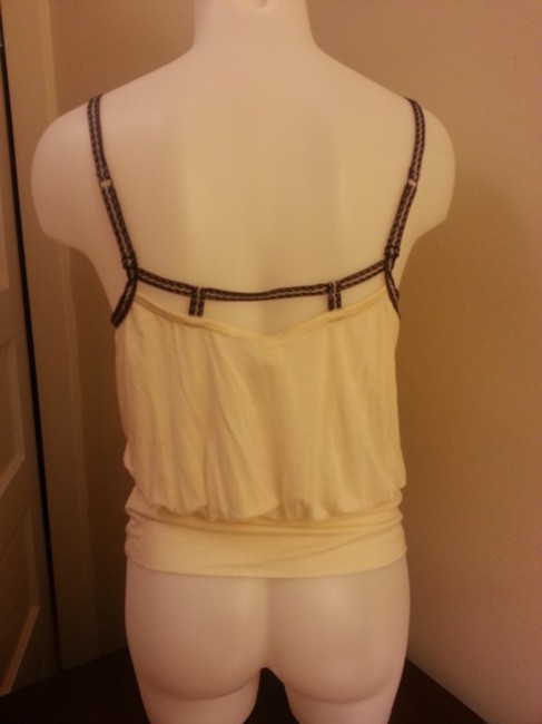 Free People Cropped Crop Soft Strappy Draped Top Cream
