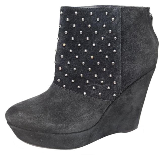 The Kooples Black Suede Stud Bootie Platforms Size EU 39 (Approx. US 9) Regular (M, B) The Kooples Black Suede Stud Bootie Platforms Size EU 39 (Approx. US 9) Regular (M, B) Image 1