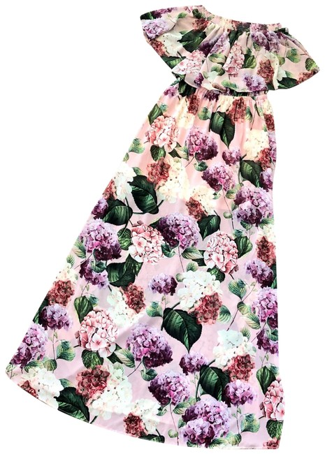 Item - Pink Brynlee Long Casual Maxi Dress Size 12 (L)