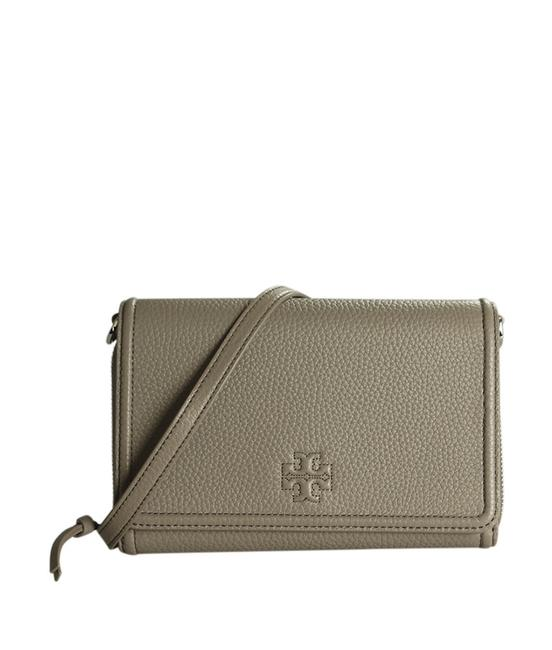 Item - Thea None (189149) Grey Leather Cross Body Bag