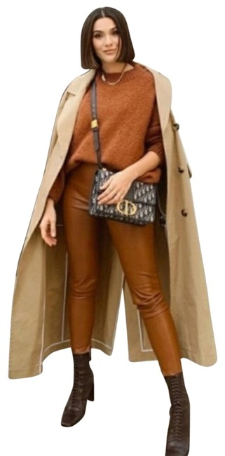 Item - Brown Faux Leather Leggings Size 8 (M, 29, 30)