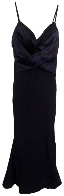 Item - Navy Mid-length Formal Dress Size 0 (XS)
