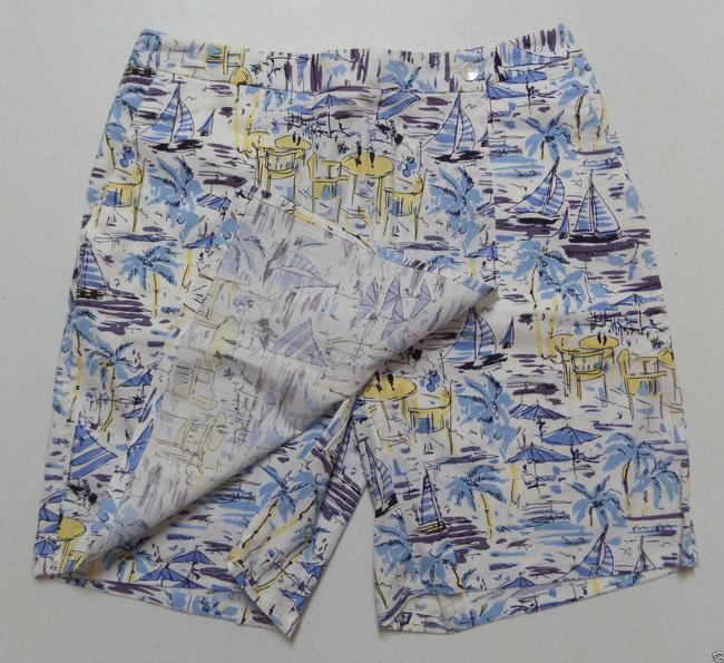 Charter Club Skort Nautical Sailboats