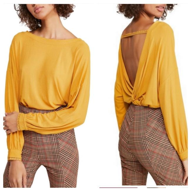 Item - Called Untamed Gold. A Mustard Yellow Top