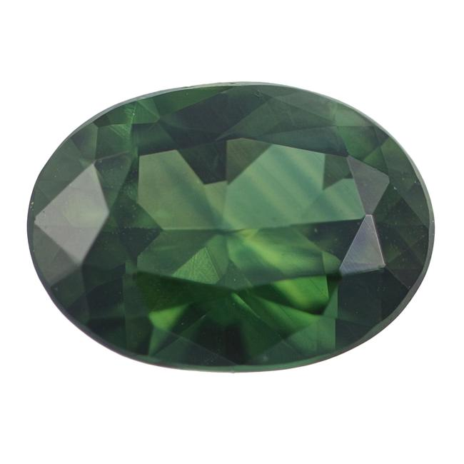 Item - Green Loose Sapphire - Oval Cut 1.22ct Solitaire