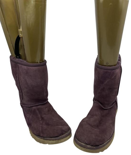 Item - Purple Colored Boots/Booties Size US 8 Regular (M, B)