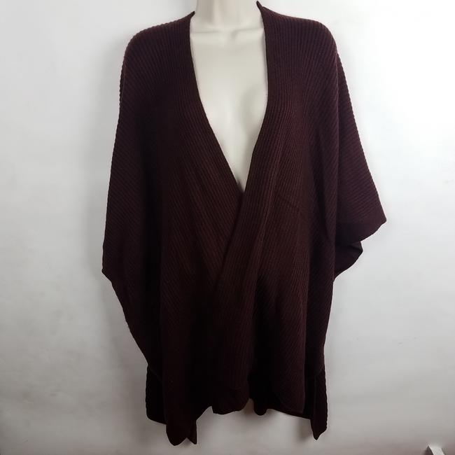 AllSaints Wine Open Cardigan Ribbed Long Short Casual Dress Size OS (one size) AllSaints Wine Open Cardigan Ribbed Long Short Casual Dress Size OS (one size) Image 4