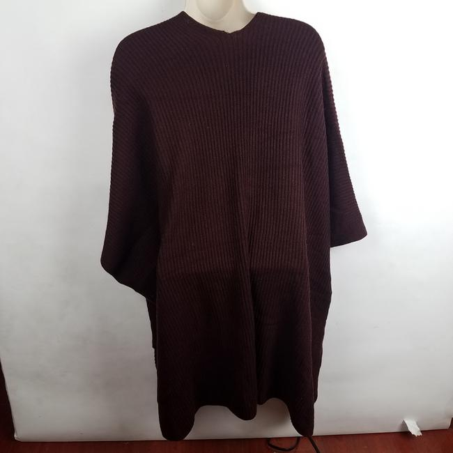 AllSaints Wine Open Cardigan Ribbed Long Short Casual Dress Size OS (one size) AllSaints Wine Open Cardigan Ribbed Long Short Casual Dress Size OS (one size) Image 6