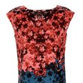 Cynthia Steffe Multicolor Floral Mid-length Work/Office Dress Size 4 (S) Cynthia Steffe Multicolor Floral Mid-length Work/Office Dress Size 4 (S) Image 2