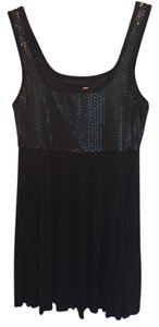 Bailey 44 Sequins Lbd Pleats Party Dress