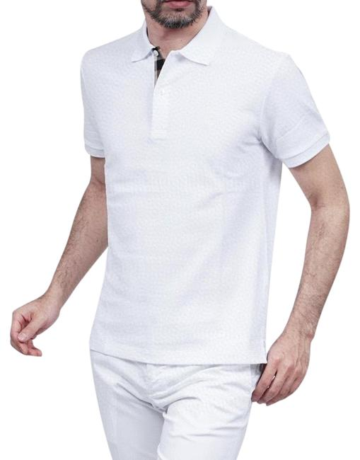 Item - White Permanent Style Polo S Tee Shirt Size 12 (L)