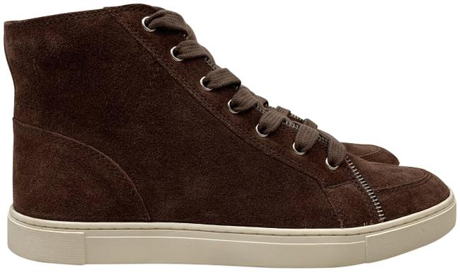 Item - Aubergine Sindy Moto High Lace-up Suede Sneakers Boots/Booties Size US 9 Regular (M, B)
