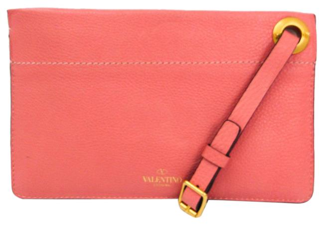 Item - Women's Pink Leather Clutch
