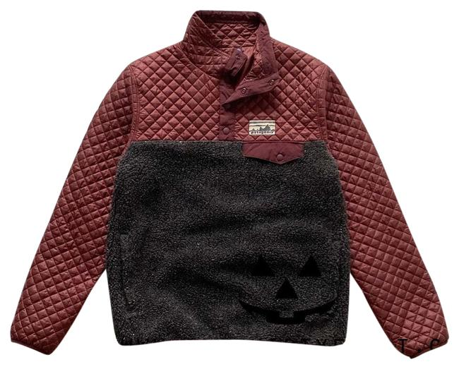 Item - Drumfire Red Mixed Snap-t Jacket Size 4 (S)