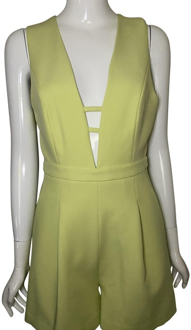 Item - Lime Sherbert Cut Out Romper/Jumpsuit