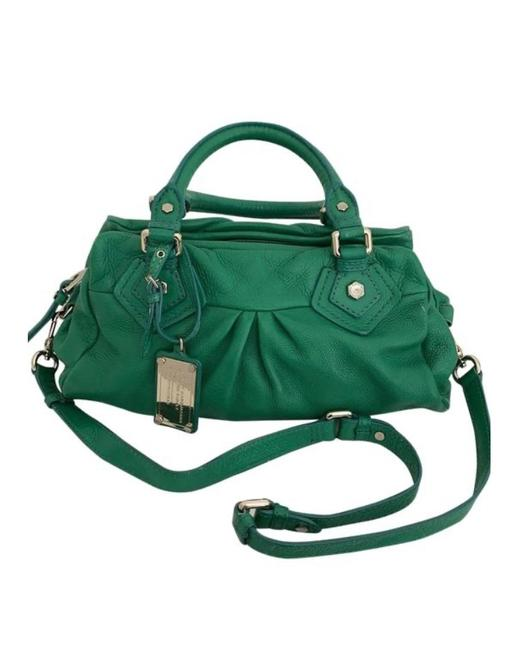 Item - Classic G Baby Groove Green Leather Hobo Bag