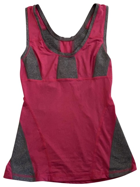 Item - Gray and Pink Activewear Top Size 6 (S)