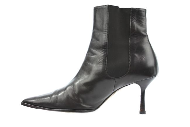 Item - Brown Leather Ankle Boots/Booties Size US 9.5 Regular (M, B)