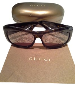 Gucci Gucci Brown Tortoise Sunglasses