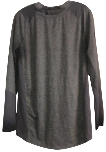 Item - Gray and Black Heat Gear Activewear Top Size 6 (S)