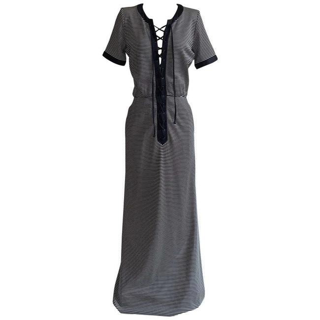 Item - Navy Vintage 90s Long Casual Maxi Dress Size 4 (S)