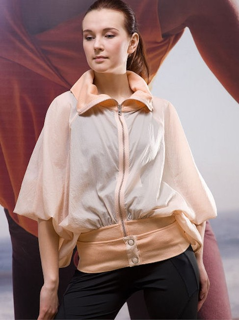 Item - Pink Silk Bomber Activewear Outerwear Size 2 (XS)
