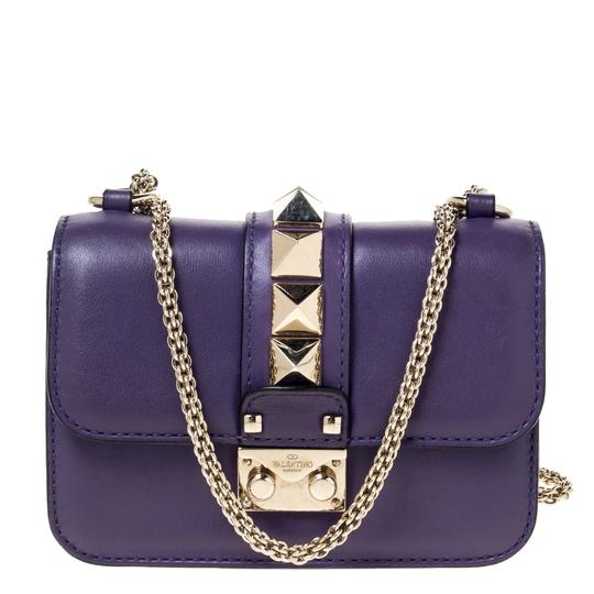 Preload https://img-static.tradesy.com/item/27870336/valentino-italy-purple-leather-shoulder-bag-0-0-540-540.jpg
