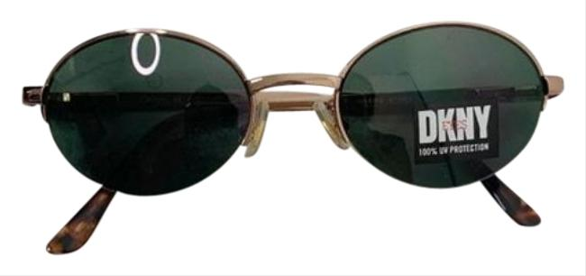 Item - Brown Deadstock Dkny Round Frame Sunglasses