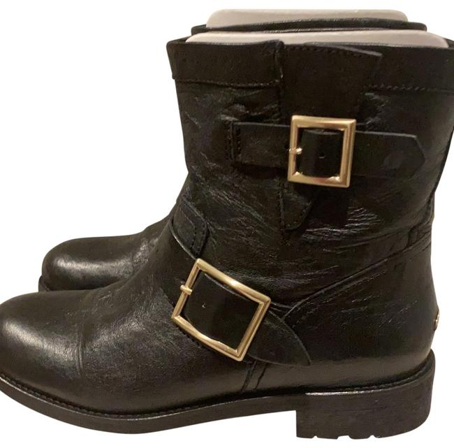 Jimmy Choo Black Youth Boots/Booties Size EU 37.5 (Approx. US 7.5) Regular (M, B) Jimmy Choo Black Youth Boots/Booties Size EU 37.5 (Approx. US 7.5) Regular (M, B) Image 1
