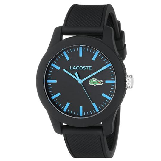 Preload https://img-static.tradesy.com/item/27870984/lacoste-blackblue-mens-lacoste1212-with-silicone-band-2010791-watch-0-0-540-540.jpg