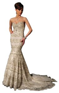 Stephen Yearick 13291 Stephen Yearick Mermaid Gown Wedding Dress