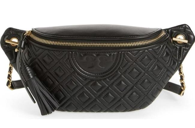 Tory Burch Black Belt Bag New Quilted Fanny Pack Waist Tory Burch Black Belt Bag New Quilted Fanny Pack Waist Image 1