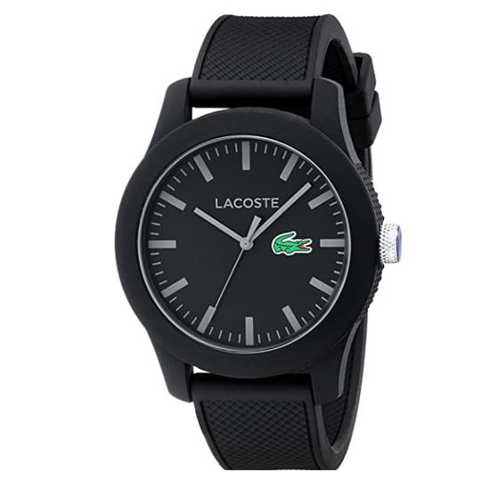 Preload https://img-static.tradesy.com/item/27871058/lacoste-black-men-s-lacoste1212-with-textured-band-2010766-watch-0-0-540-540.jpg