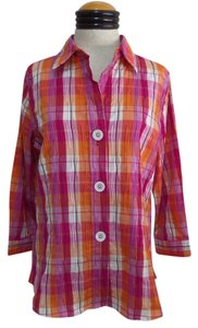 Foxcroft Button Down Shirt Multi Color
