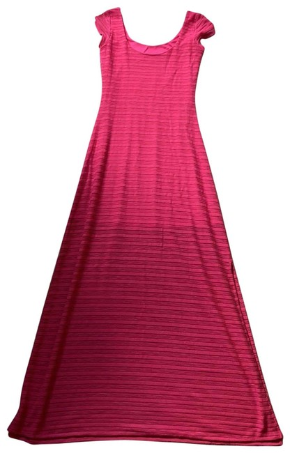 Item - Hot Pink Long Casual Maxi Dress Size 4 (S)