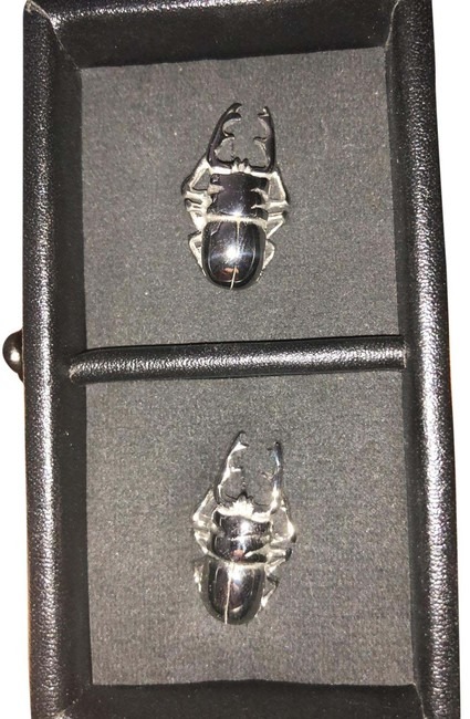 Item - Steel Scarab Cufflinks