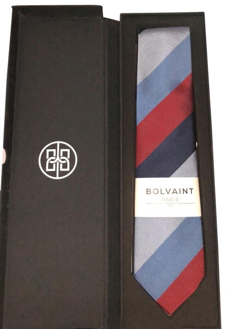 Item - Tabit Autumn Stripe Silk Tie