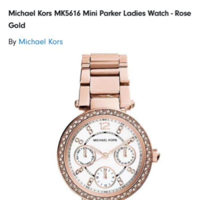 Item - Rose Gold Mk5616 Parker Collection Ladie's Watch