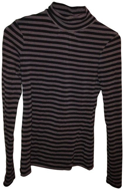 Preload https://item5.tradesy.com/images/express-black-and-grey-turtleneck-tee-shirt-size-4-s-27874-0-0.jpg?width=400&height=650