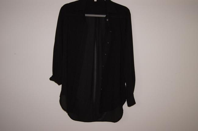 vince camuto Button Down Shirt black